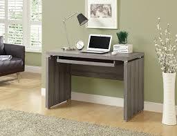 Home Computer Desks Amazon Com Monarch Computer Desk 48 Inch White Kitchen U0026 Dining