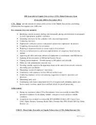 Day Care Experience On Resume Fatna Jabeur Resume 2016 Docx
