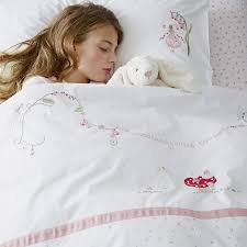 woodland fairy bedding set children u0027s bed linen the white