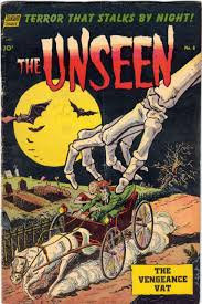 spooky vintage halloween comic book cover for the unseen 8 cool horror comics