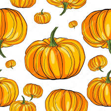 thanksgiving pumpkin pattern stock photo richcat 10275409