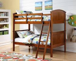 Cheap Bunk Beds Houston Arch Panel Solid Wood Bunk Bed Rooms Furniture