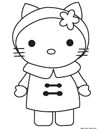 33 kitty coloring pages free images