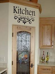 Cabinet Door Decals by Wall Art Decals Quotes Kitchen Wall Quote Vinyl Decal Lettering