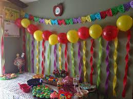 birthday decoration ideas birthday room decorated images birthday decorating ideas with