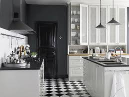black and white kitchen floor ideas finest herringbone wood