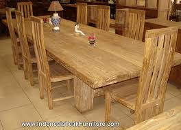 Teak Dining Room Furniture by Teak Wood Furniture Dining Table Chairs Set