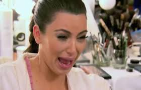 Crying Face Meme - the 15 best kim kardashian cryfaces