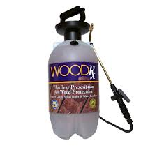 woodrx 2 gal ultra cedar transparent wood stain sealer with pump