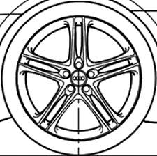 how to create a rim of an audi r8 grabcad