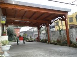 prezzi tettoie in legno per esterni tettoia in legno a verona