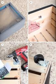 Wooden Toy Box Instructions by Diy Chalkboard Toy Box On Wheels U2013 A Beautiful Mess