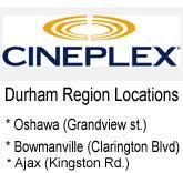 cineplex odeon kingston durham movie theaters movie theaters in the durham region