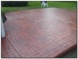Cement Patio Sealer Concrete Patio Sealer Wet Look Patios Home Decorating Ideas