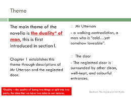 main themes dr jekyll and mr hyde the strange case of dr jekyll and mr hyde cfe higher ppt download
