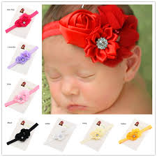 newborn hair bows 36pcs baptism gift cheap headband hair bows hair flower headband