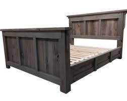 Reclaimed Bedroom Furniture Reclaimed Wood Bed Etsy