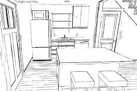 fresh small kitchen design layout 8078