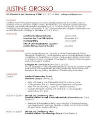 Coaching Resume Sample by Strength And Conditioning Resume 3431