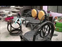 como hacer macetas con llantas recicladas paso a paso como hacer sillas con llantas recicladas procedimiento paso a paso