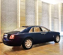 rolls royce rear rolls royce ghost series 2 on rent for doli at ktc india