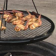 Firepit Grille Sunnydaze Pit X Marks Cooking Grill