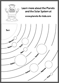 planet activity sheets