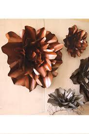 metal flower art decor decorative flowers