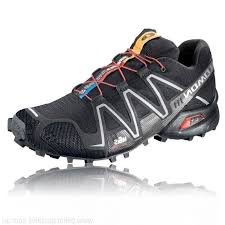 light trail running shoes black salomon speedcross 3 trail running lightweight mens breathable