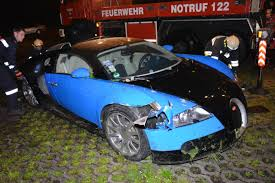 crashed for sale crashed bugatti veyron put up for sale by insurance company axa