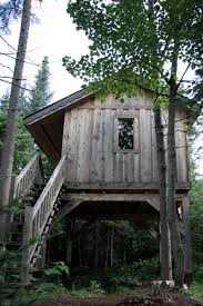 Treehouse Camping Quebec - laurentians a great place for spas ziplining and other autumn fun