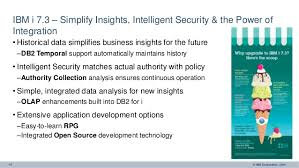 ibm i at the eart of cognitive solutions