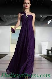 maternity evening dresses chiffon one shoulder maternity evening dress purple for sale