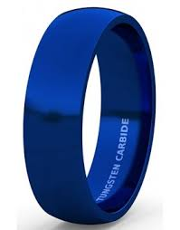 mens blue wedding bands tungsten blue wedding bands for men american tungsten carbide