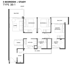 Bedroom Floor Planner by The Wisteria Wisteria At Yishun Avenue 4 Condo Mixed Development