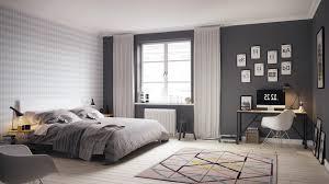 scandinavian interior design bedroom scandinavian design bedroom wall mounted white shelf with various