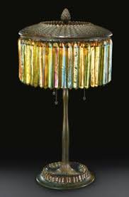 Louis Comfort Tiffany Lamp Butterfly Lamp By 1899 Designed By Clara Driscoll Photo Colin
