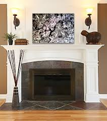 Popular Living Rooms What Decor Over This Fireplace Floor Paint