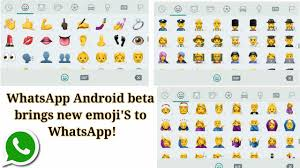 android new emoji whatsapp android beta brings new emoji s to whatsapp