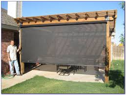 roll up shades for patio home outdoor decoration