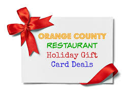 restaurant gift card deals oc restaurant gift card deals