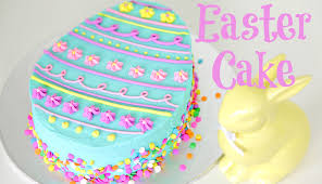easter egg cake decorating cake style youtube