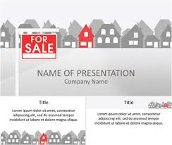 real estate powerpoint template templateswise com