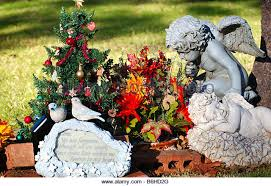 Cemetery Christmas Decorations Grave Decorations Stock Photos U0026 Grave Decorations Stock Images
