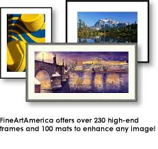 Picture Frames And Mats by Fine Art Custom Frames