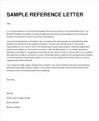 bunch ideas of formal reference letter template about format