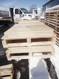 custom wooden pallets custom wood skids quality support llc