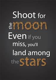 shoot for the moon land among the by arctech on deviantart