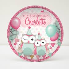 keepsake plates personalised melamine kids birthday keepsake plates