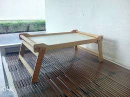 wooden breakfast laptop bed tray table for sale philippines find